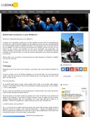 Entrevista al actor Luis Mottola, intérprete del personaje Andrés Novoa en la serie El Internado de Antena 3.