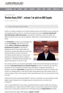 @HBO_ES #DestinoRusia2018 @fifaworldcup_es @fifacom_es @RusiaWC2018CT #WorldCup #FIFAWorldCup #MundialRusia2018
