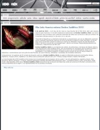 Nota de prensa HBO sobre Destino: Sudáfrica 2014. Presentado por Luis Mottola.