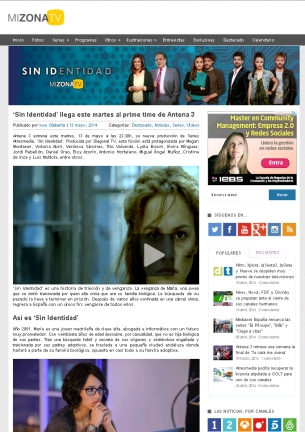 MizonaTV.com - Presentación SIN IDENTIDAD.