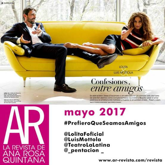 #estreno #PrefieroQueSeamosAmigos Revista AR #Madrid @LuisMottola @Sarandonga55 @TeatroLaLatina @_pentacion_