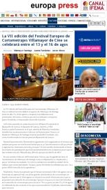 Presentación Diputación FEC 2014 - Festival Europeo de Cortometrajes VII Edición. Presentado por Luis Mottola.