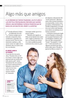 @LuisMottola estrena en La Latina #PrefieroQueSeamosAmigos con Lolita FLores. (01/04/2017) programate.es